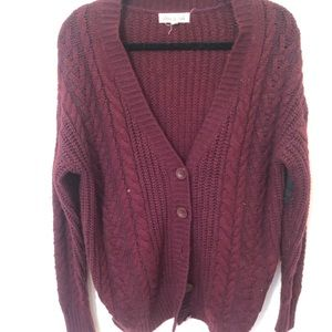 Chunky cardigan from UO